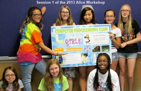 The 2013 Alice Workshop class